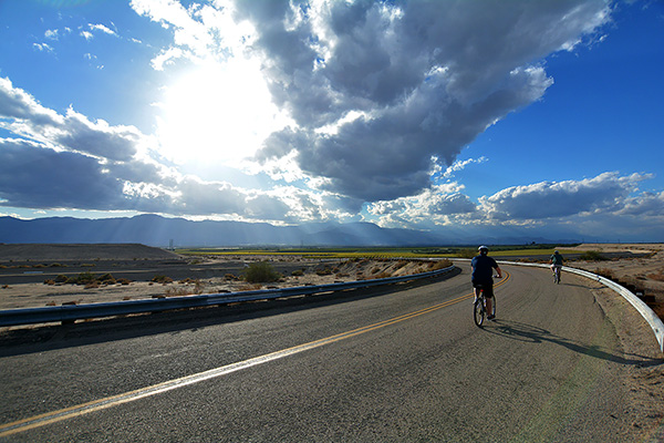 Palm Springs Bicycle Tour - The Earthquake Canyon Express